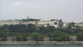Het Paleis van Topkapi Istanboel stock footage