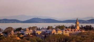 Het Paleis van Topkapi in Istanboel, Turkije Stock Fotografie