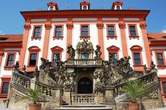 Het paleis van Troja in Praag Stock Afbeelding
