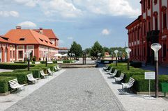 Het paleis van Troja in Tsjechische Republiek Royalty-vrije Stock Fotografie