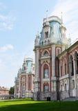 Het Paleis van Tsaritsino in Moskou Stock Afbeeldingen
