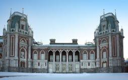 Het paleis van Tsaritsyno. Rusland. Moskou Stock Fotografie
