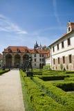 Het paleis van Valdstejn in Praag Royalty-vrije Stock Fotografie