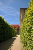 Het paleis van Valdstejn in Praag Royalty-vrije Stock Foto's
