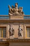 Het Paleis van Versailles Royalty-vrije Stock Afbeeldingen