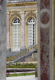 Het paleis van Versailles stock foto