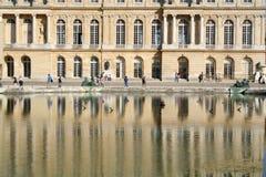 Het Paleis van Versailles in Frankrijk Royalty-vrije Stock Afbeeldingen
