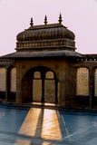 Het paleis van Vijayvilas in mandvi Stock Fotografie