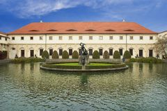 Het Paleis van Wallenstein in Praag Royalty-vrije Stock Afbeeldingen