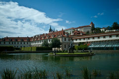 Het paleis van Wallenstein in Praag Royalty-vrije Stock Afbeelding