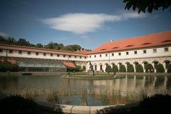 Het paleis van Wallenstein in Praag Royalty-vrije Stock Foto