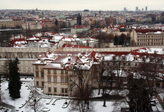 Het Paleis van Wallenstein in Praag Stock Foto's