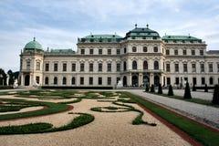 Het paleis van Wenen stock foto's