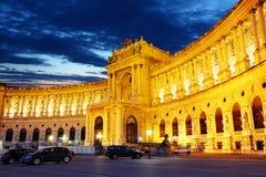 Het paleis van Wenen Hofburg Royalty-vrije Stock Afbeeldingen