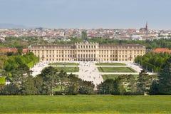 Het paleis van Wenen Schonbrunn Stock Foto's