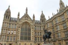 Het paleis van Westminster stock fotografie