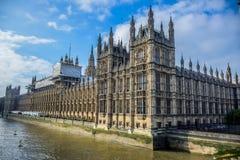 Het Paleis van Westminster in Londen, Engeland royalty-vrije stock foto's