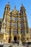 Het Paleis van Westminster, Londen, het Verenigd Koninkrijk Stock Foto