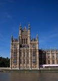 Het Paleis van Westminster van de Toren van de kanselier stock foto's
