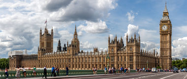 Het Paleis van Westmister in Londen Stock Foto's
