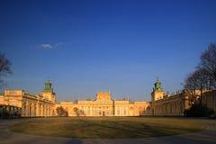 Het Paleis van Wilanow royalty-vrije stock afbeelding