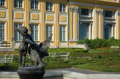 Het Paleis van Wilanow royalty-vrije stock fotografie