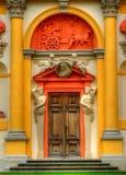 Het paleis van Wilanow in Warshau Stock Afbeelding