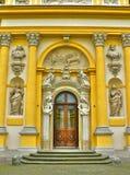 Het paleis van Wilanow in Warshau Stock Foto's