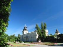 Het Paleis van Wilanow, Warshau, Polen Stock Fotografie