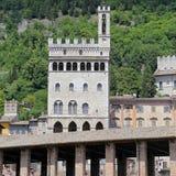 Het Paleis van Wonderfullconsullen in Gubbio Umbrië Stock Foto's