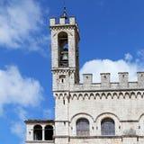 Het Paleis van Wonderfullconsullen in Gubbio Umbrië Royalty-vrije Stock Afbeelding