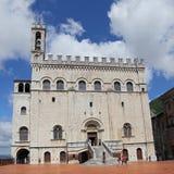 Het Paleis van Wonderfullconsullen in Gubbio Umbrië Royalty-vrije Stock Afbeeldingen