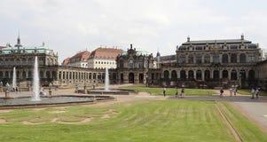Het paleis van Zwinger in Dresden Royalty-vrije Stock Afbeeldingen