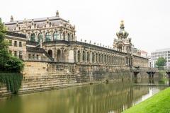 Het paleis van Zwinger in Dresden Royalty-vrije Stock Foto