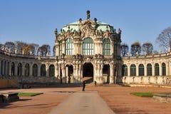 Het paleis van Zwinger in Dresden, Duitsland. Royalty-vrije Stock Foto's