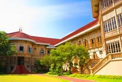 Het paleis Vimanmek van Thailand royalty-vrije stock fotografie