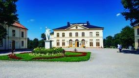 Het paleisbijlage van Stockholm Stock Foto