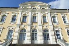 Het Paleisingang van Letland ` s Royalty-vrije Stock Foto's