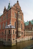 Het Paleiskerk van Frederiksborg Stock Afbeelding