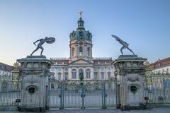 Het paleispoort van Schlosscharlottenburg royalty-vrije stock foto