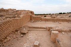 Het paleisruïnes van koningsherod stock afbeeldingen
