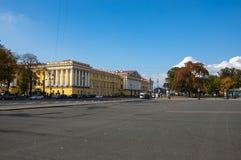 Het paleisvierkant in heilige-Petersburg Stock Afbeelding