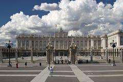 Het Paleisvierkant van Spanje Madrid royalty-vrije stock fotografie