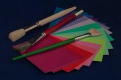 Het palet van de kleur Stock Fotografie