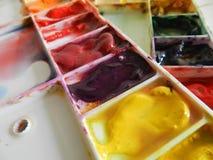 Het palet van de kleur royalty-vrije stock afbeelding