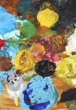 Het Palet van de kleur Stock Afbeeldingen