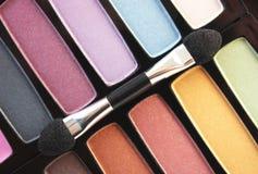Het palet van de make-up Stock Foto