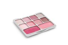 Het palet van de make-up Royalty-vrije Stock Foto