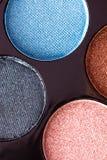 Het palet van de make-upoogschaduw Stock Afbeelding