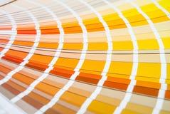 Het palet van de regenboogkleur Stock Foto